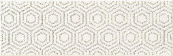 Domino Burano Bar White A Dekor 23,7x7,8
