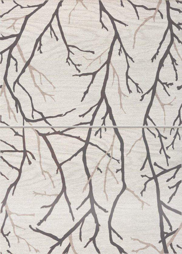 Domino Inverno Tree Dekor 2-elemntowy 50,2x36