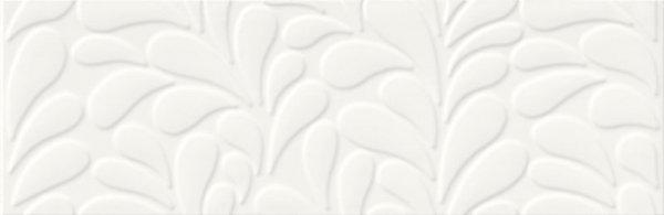 Opoczno Moon Line White Satin Structure 29x89