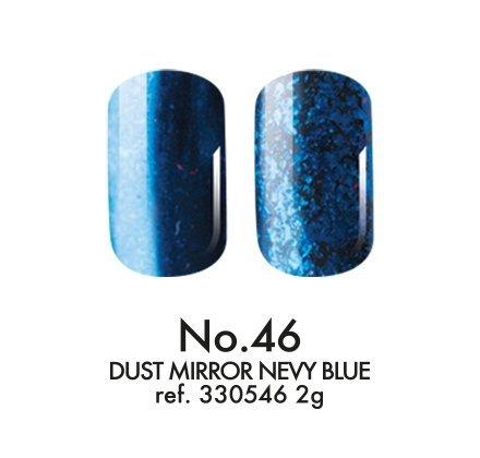 Pyłek dekoracyjny : Mirror Nevy Blue No.46