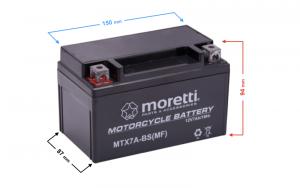 Akumulator AGM (Gel) MTX7A-BS Moretti