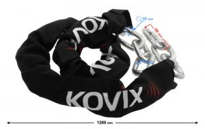 Łańcuch zabezpieczający KOVIX KC10B-120