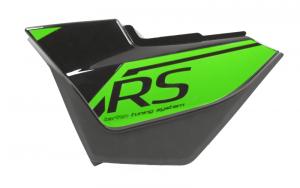 Obudowa boczna lewa czarno-zielona do motoroweru Sprint 2
