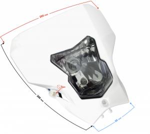 Reflektor przedni DB250 MZK