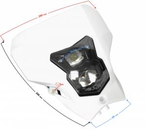 Reflektor przedni LED DB250 MZK