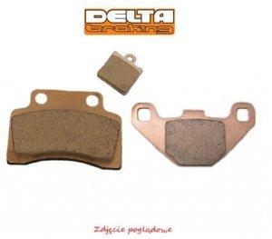 Klocki hamulcowe motocyklowe DELTA DB5120 (odpowiednik FA197 ; FA165)