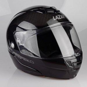Kask motocyklowy LAZER MONACO EVO Pure Carbon czarny/carbon XS