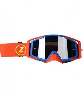 LAZER Gogle Race Style Mirror Blue - Red - Red kol. Mirror Silver