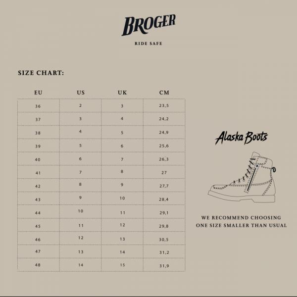 BUTY BROGER ALASKA VINTAGE BROWN 44