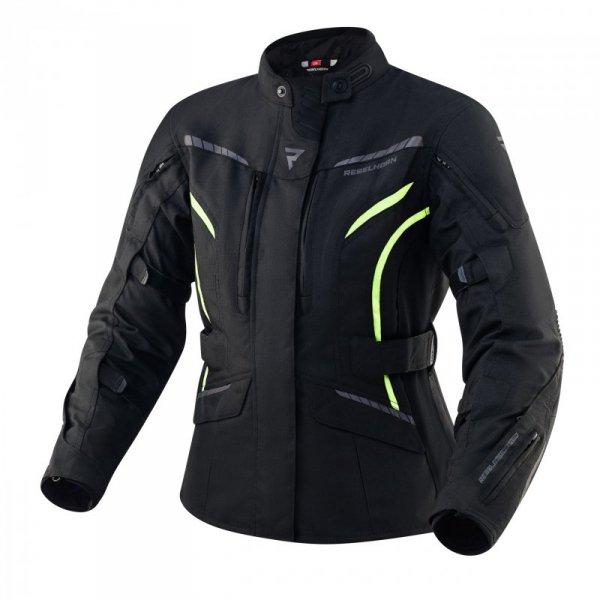 KURTKA TEKSTYLNA REBELHORN HIKER III LADY BLACK/FLO YELLOW DL
