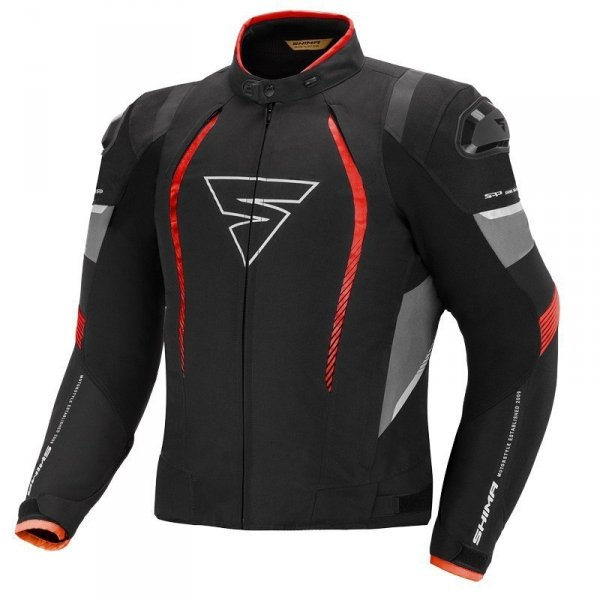 SHIMA SOLID JACKET RED