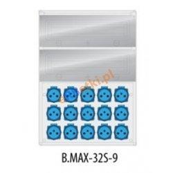 Rozdzielnica MAX BOX-32S 16x230V, IP65