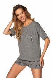 Piżama Monica SAL-PY-1168-II Szary Melange