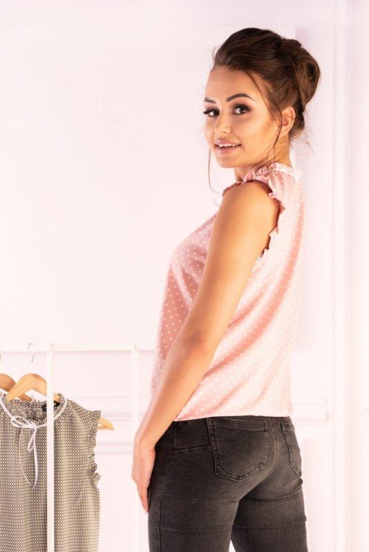 Bluzka Amargo Pink White