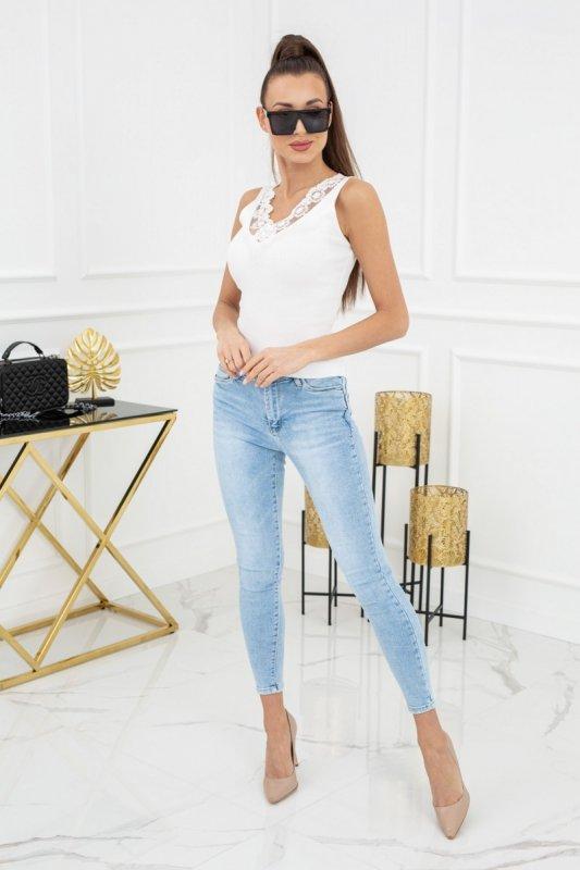Bluzka Anne Lace MCY02233 White