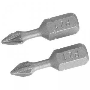 KOŃCÓWKI WKRĘTARSKIE - POZIDRIV TORSION PZ1/25 (2SZT.)