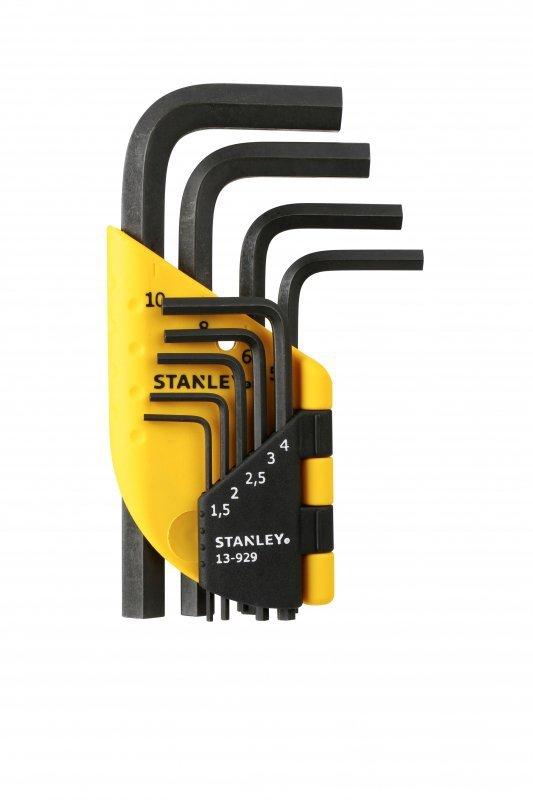 Zestaw 9 szt klucze sześciokątne (1,5 - 10 mm)