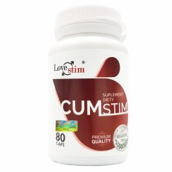 CUMSTIM mocny wytrysk zdrowa sperma lepszy smak 80kaps