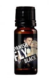 MOCNE MĘSKIE FEROMONY SPANISH FLY BLACK 30ml