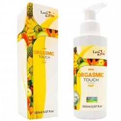 ORGASMIC TOUCH Orgazmowy żel do masażu i stymulacji FRUIT 150m