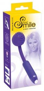 Wibrator Smile do punku G z kulką fioletowy