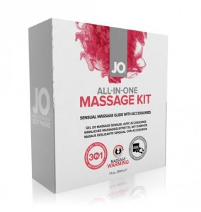 System JO All-In-One Massage Kit