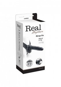 FALLO STRAP ON CAVO REAL RAPTURE 8 BLACK WITH BALLS