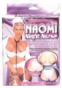 Lalka-NAOMI NIGHT NURSE WITH UNIFORM