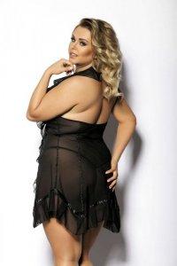 ACRE black chemise XL+ ( czarna halka )