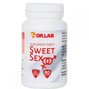 SWEET SEX 80caps wzmacnia doznania poprawia smak spermy