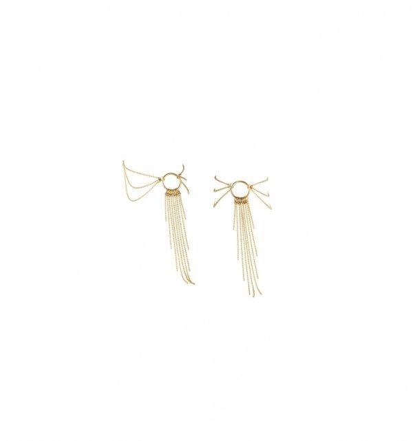 Bijoux Indiscrets - Magnifique Feet Chain (złoty)