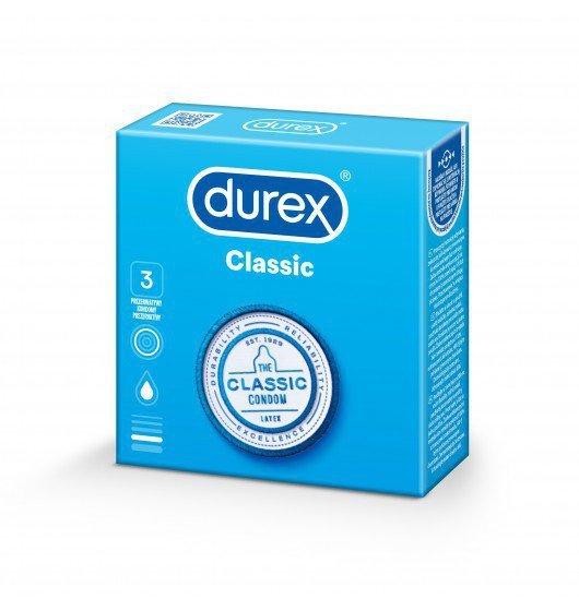 Prezerwatywy Durex Classic A3