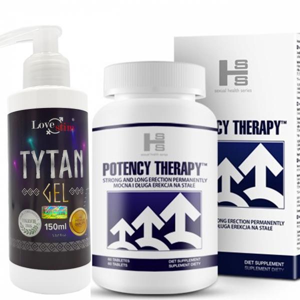 Potency Therapy 60kaps MOCNA, SILNA, DŁUGA EREKCJA