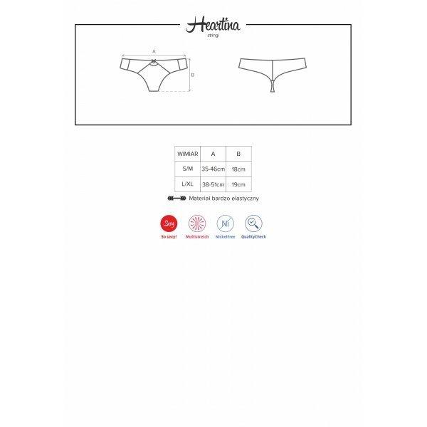 Heartina stringi L/XL