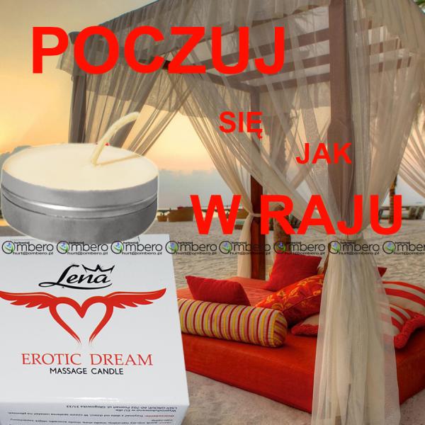 Zapachowa świeca do erotycznego masażu aż 25ml