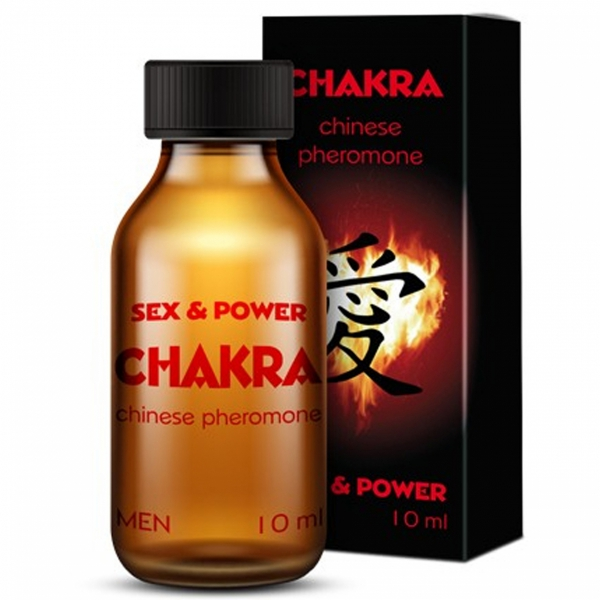 Chakra 10ml MĘSKIE feromony - poznaj chińskie tajniki receptury
