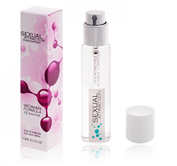 Sexual Attraction 15ml PERFUMY Z FEROMONAM DLA PAŃ