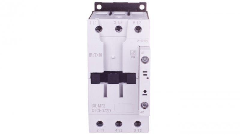 Stycznik mocy 72A 3P 24V AC 0Z 0R DILM72(24V50/60HZ) 109197