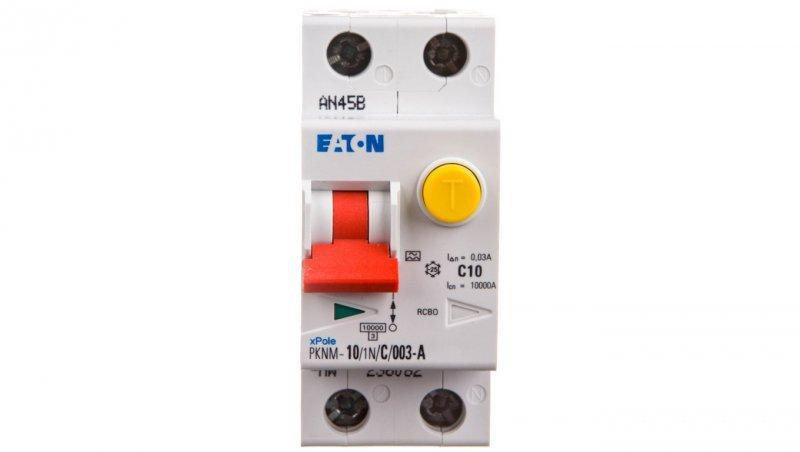 Wyłącznik różnicowo-nadprądowy 2P 10A C 0,03A typ A PKNM 10/1N/C/003-A-MW 236082