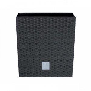 Doniczka stojak Rato Square czarna 17 cm