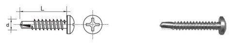 WKRĘT SAMOWIERTNY OCYNKOWANY D7504M-H 4.8*32MM