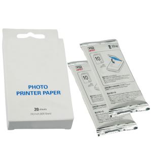 20x Papier fotograficzny ZINK do drukarek wkłady G&G Xiaomi Mi Canon Huawei