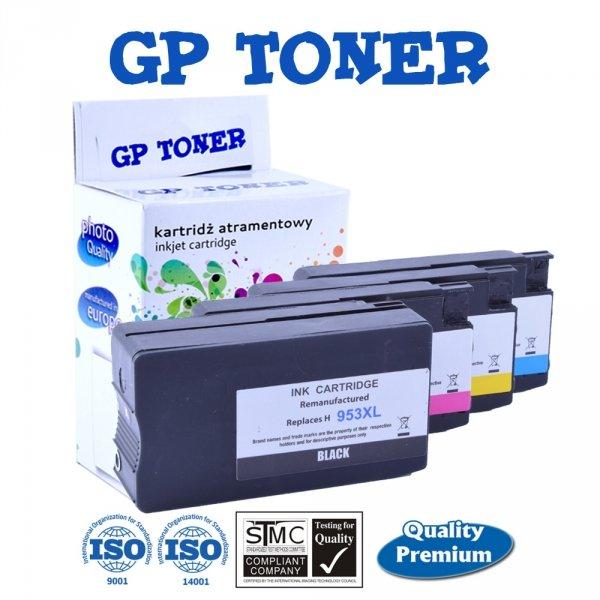 4 Tusze do HP 953XL OfficeJet Pro 7740 8210 8710 8720 8730  - GP-H953XL CMYK Zestaw