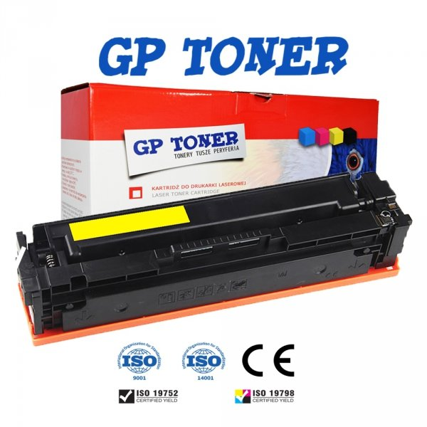 Zamiennik Toner do Canon MF631Cn 633Cdw 635Cx LBP611Cn 613Cdw 045H Yellow