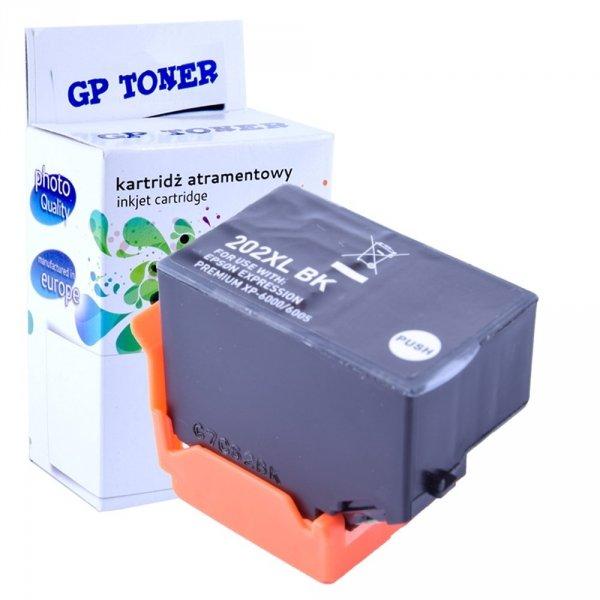 Tusze do Epson 202XL Expression Premium XP-6000 XP-6005 XP-6100 - GP-E202BK - Czarny