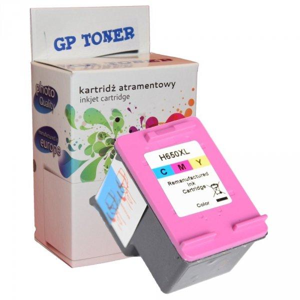 Tusz HP 650XL 1050 1515 2515 2645 3515 3545 - GP-H650XLCMY - Kolor