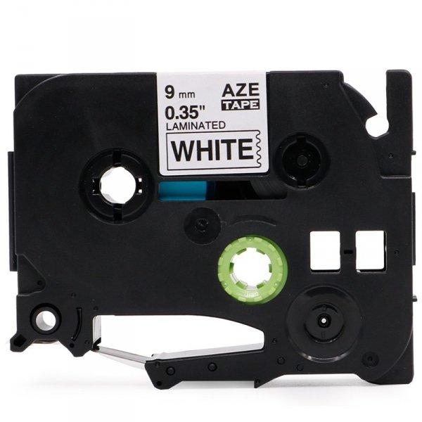 Taśma zamiennik do Brother TZ-221 Czarne na białym