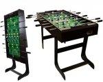 Piłkarzyki stół piłkarski składany 121 x 101 x 79cm BELFAST
