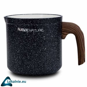 GARNEK DO MLEKA GRANITOWY 11cm 1.0L NAVA NATURE 144-123