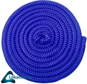 Skakanka gimnastyczna 3m, niebieska